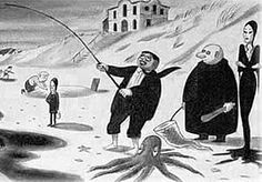 Happy 100th to Charles Adams one of my favorite cartoonists and he creator of the Addams Family  (wish i could have known)