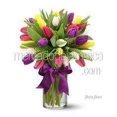 60 Mejores Imágenes De Arreglos Con Tulipanes Arreglos Con