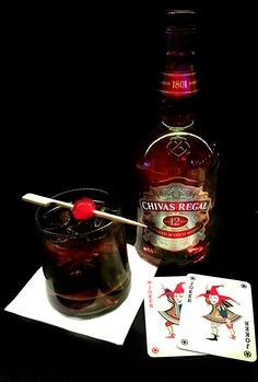 Chivas Regal with Coke