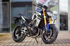 "Racing Cafè: Yamaha MT-09 ""MotoGP"" by AD Koncept"