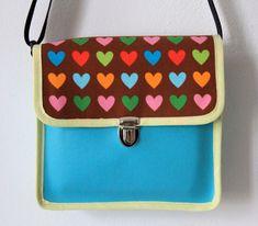 """Kindergartentasche """"hearts"""""""