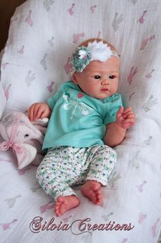 Harlow by Sandy Faber - Pre-Order - Online Store - City of Reborn Angels Supplier of Reborn Doll Kits and Supplies