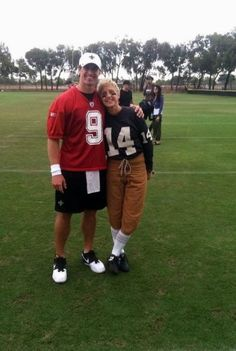 Ellen with Drew Brees was hysterical!