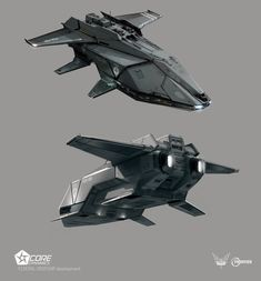 ArtStation - Elite Dangerous: Federal Dropship concepts, Xavier Henry