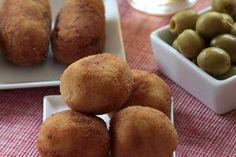 Pebre i xocolata: Croquetes tradicionals: de pollastre i de peix i marisc