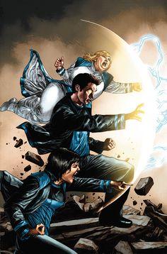 "NYCC: Valiant Celebrates the Future of ""Bloodshot,"" ""Harbinger"" & More - Comic Book Resources Best Comic Books, Comic Books Art, Comic Art, Comic Book Companies, Valiant Comics, The Valiant, Story Arc, Comic Pictures, Comics Universe"