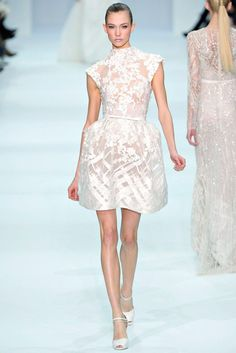 Elie Saab Spring 2012 Couture Fashion Show - Karlie Kloss (IMG)