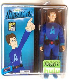 "The Awesomes Prock 8"" ComicCon Exclusive Action Figure #BifBangPow"