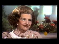 """""""CBS Sunday Morning"""" pays tribute to former First Lady Betty Ford who died at the age of Betty Ford, Elizabeth Anne, Impossible Dream, Two Ladies, Presidents, Interview, Lady, Youtube, Usa"""