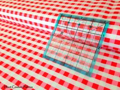 Twice As Nice Spice Plaid C3525 Red red pink and by hootcouture