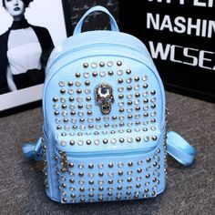 Cool Skull Rivet College Backpacks , Fashion Backpacks - Bags For Big Sale! Cool Skull Rivet College BackpacksJust $32.99 . Rivet College Backpacks in Atwish.com