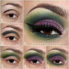 Peacock Inspired Makeup Tutorial | Chikk.net