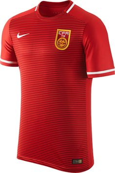 48fcf6240b The new Nike China Home Kit introduces a unique design for China after  Nike s first shirt was based on a standard Teamwear Shirt.