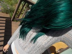 manic panic enchanted forest next vacation i'm going to do kind of a dip dye with this color