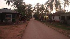 This is how the village looks at 6 AM. You will probably use this street a lot while in Kizimkazi. #Kizimkazi #villagelife #Tanzania
