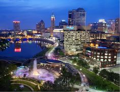 Downtown Columbus, Ohio