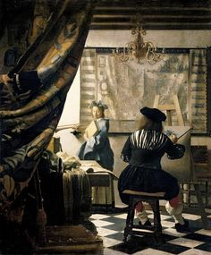 The Artist's Studio, by Jan Vermeer