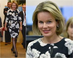 MyRoyals:  Queen Mathilde attended the 'EU Support of Microfinance and Social Entrepreneurship' seminar, Brussels, October 19, 2015