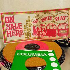 Happy birthday Syd! #seeemilyplay #thescarecrow #1967 #sydbarrett #pinkfloyd #columbia #emi #single #vinyligclub #instavinyl #pinkvinyl #45rpm #vinylgram #vinylcollection #vinylcommunity #vinyljunkie by v_v_1968