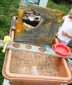let the children play: new directions for the sand and water table