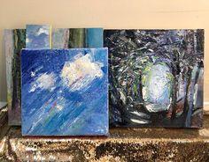 𝐽𝑒𝑛𝑛𝑦 𓆸 (@sapioflora) posted on Instagram • Aug 31, 2020 at 5:53pm UTC Night, Gallery, Artwork, Painting, Instagram, Work Of Art, Roof Rack, Painting Art, Paintings