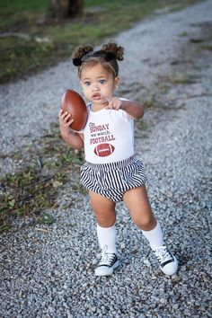 Bright Summer Acrylic Nails Discover Football Shirt On Sunday We Watch Football Football Outfit Sundays Are For Daddy And Football Baby Football Outfit Baby Football Shirt Cute Mixed Babies, Cute Black Babies, Black Baby Girls, Beautiful Black Babies, Cute Babies, Brown Babies, Black Kids, Cute Kids Fashion, Baby Girl Fashion