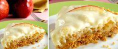 Foto - Receita de Torta de maçã maravilhosa Creative Food, Jelly, Cheesecake, Food And Drink, Pie, Pudding, Yummy Food, Delicious Recipes, Sweets