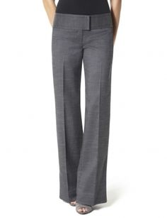 Would love a good tailored pair of Pants : Drew Pieced Waist Wide Leg Pant: The Limited - StyleSays