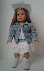 Western Cowgirl Outfit for American Girl Dolls JST Like You McKenna Lanie Sage   eBay