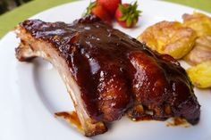Dimples & Delights: Oven BBQ Ribs