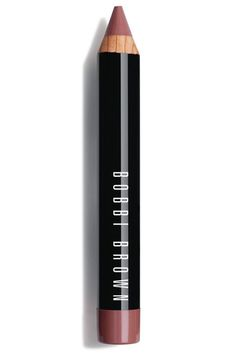 """""""I normally don't do a nude lip, but this shade has a pretty rosy finish that keeps things from feeling too blah. I also love how the chunky pencil goes on like a lipstick and liner all in one!""""  Bobbi Brown Art Stick in Rich Nude, $28, bobbibrowncosmetics.com."""