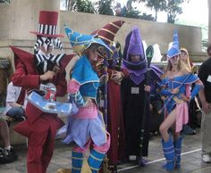 These YuGiOh cosplay fans get their groove on with cool costumes | Konami Games News Blog  http://konami-news.com/entries/yugioh-cosplay/these-yugioh-cosplay-fans-get-their-groove-on-with-cool-costumes