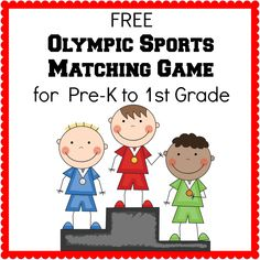 Free Matching game for the Winter Olympics