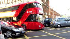 Buses at King's Cross St. Pancras International Railway station filmed on 30th September 2016