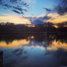 Sailing. New York. Cornell. Sunrise.