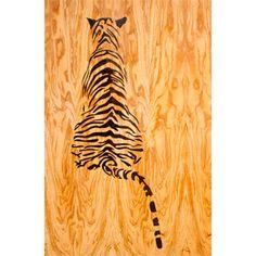 Tiikeri, oliivipuu, Mia O Galleria