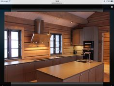 Et utvalg fra prosjekter den senere tid Winter Lodge, Cabin Interiors, Modern Rustic, Hygge, Kitchen Cabinets, Relax, Simple, Boat House, Table