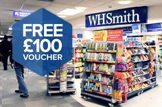Become a W H Smith Mystery Shopper!