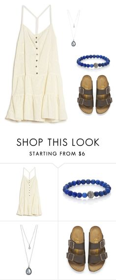 """SLC :("" by m2w8w8 on Polyvore featuring Current/Elliott, John Hardy, Forever 21 and Birkenstock"