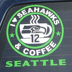 Large 6 X 8 Seattle Seahawks Seacock 12th Man By
