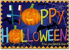Spooky Scene Halloween Postcard by SmartPractice