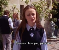 Rory Gilmore Quotes That Prove She's Still Relatable Today 100 Reasons Why I Love You, Because I Love You, My Love, Babette Ate Oatmeal, Gilmore Girls Quotes, Gilmore Girls Dean, Gilmore Girls Finale, Lorelai Gilmore Quotes, Rory Gilmore Style