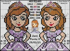 Sofia The First Cartoon, Cartoon Characters, Fictional Characters, Princesas Disney, Hama Beads, Baby Knitting, Baby Dolls, Hello Kitty, Arts And Crafts