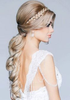 bridal hairstyles for long hair 2015, Women styles, hairstyles, makeup tutorials, fashion, dresses and more about women