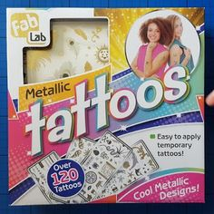 The Brick Castle: FabLab Metallic Tattoos From Interplay Review (age 8+)...