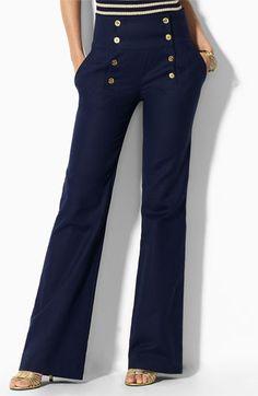 Sailor wide leg jeans | Style | Pinterest | The two, Sailor pants ...