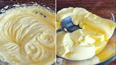 Best Cake : You won& want to believe that this delicious vanilla cream just . Dessert Drinks, Köstliche Desserts, Delicious Desserts, Yummy Food, Nutella, Cake Recipes, Dessert Recipes, Hungarian Recipes, Dessert Decoration