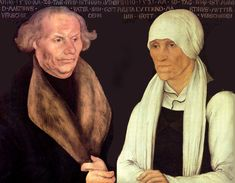 Hans Luder and Margaret Lindemann, 17th gr-grandparents. Parents of Martin Luther and Jacob Luther, 16th gr-grandfather.