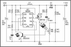 how to build low voltage stepdown converter circuit diagram
