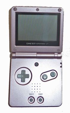 Game Boy Advance SP Console (Pearl Pink) (AGS-001) - Game Boy Advance